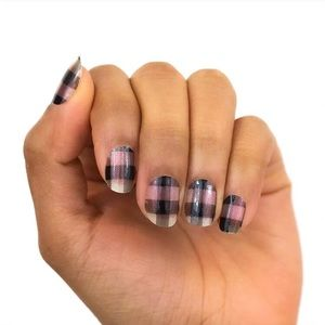 Color Street plaid about you stripe